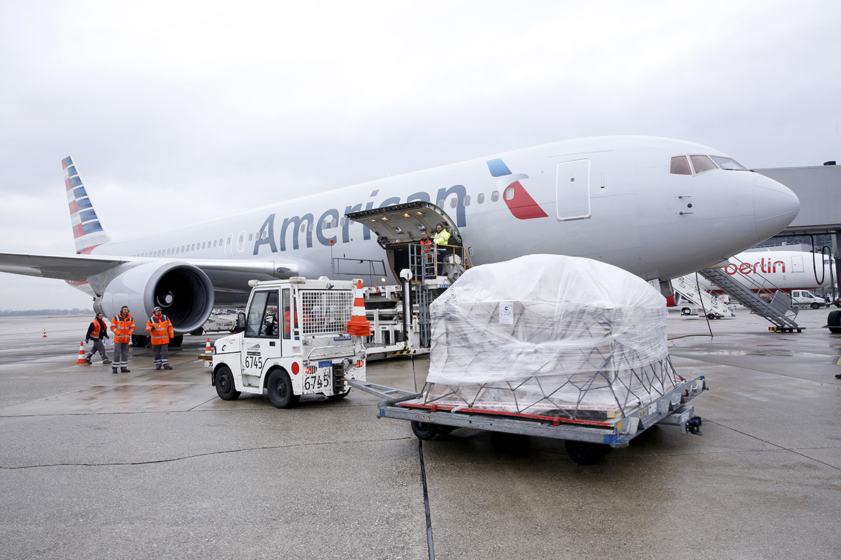 American Cargo Continues To Break Records At Heathrow