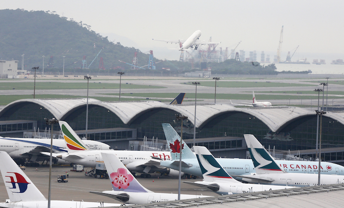 HKIA continues cargo growth in October