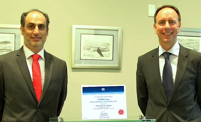 LATAM Cargo first Americas carrier to get CEIV Pharma certification