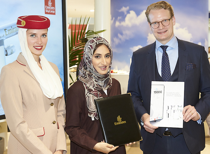 Emirates SkyCargo offers two more cool chain ULD solutions