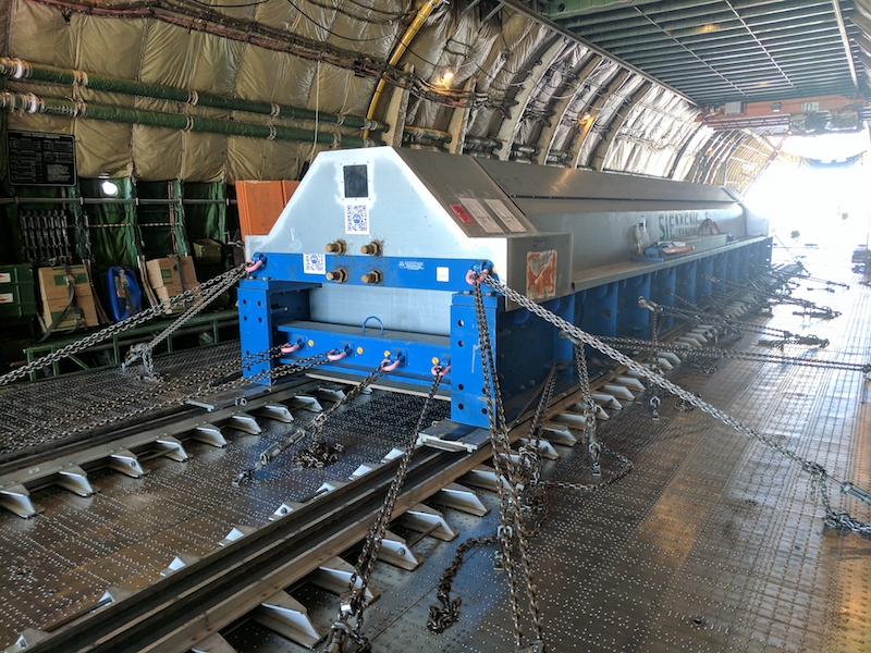 Volga-Dnepr works with Siemens on urgent delivery of 57-tonne rotor