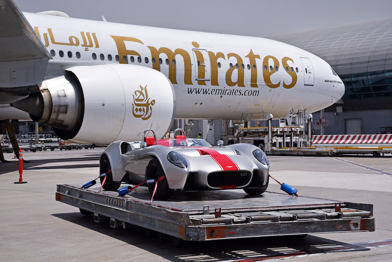 Emirates SkyCargo transports first UAE-produced car to France