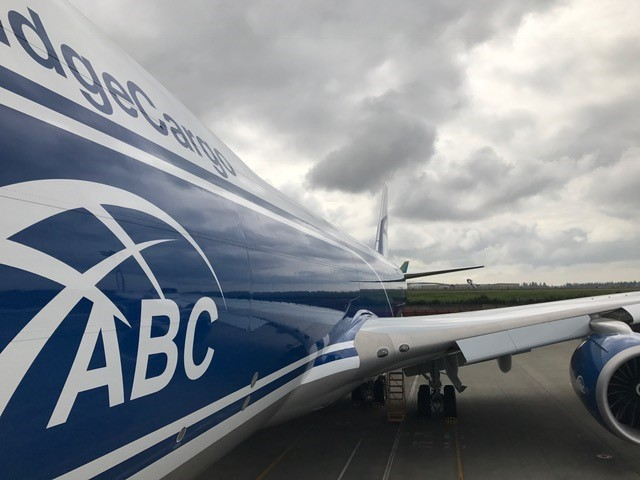 Intrepid delivers 2nd B747-8 Freighter to AirBridgeCargo