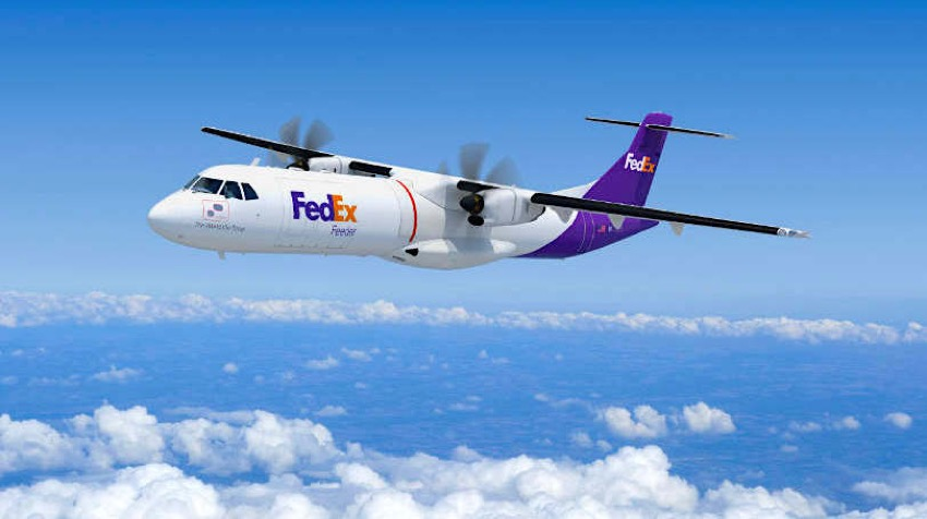 FedEx Express orders 50 new ATR 72-600 freighters