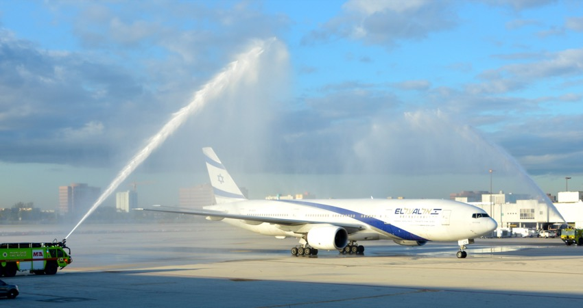 EL AL connects Florida to Israel for first time