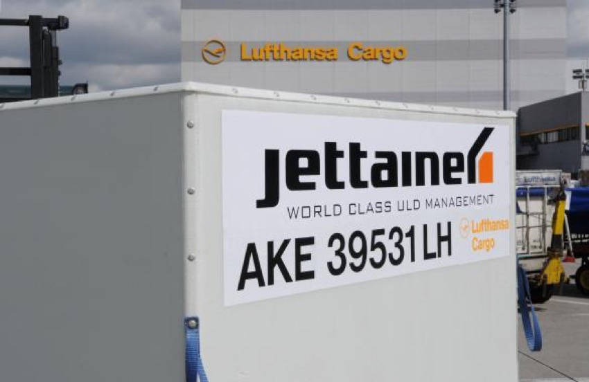 Jettainer wins Lufthansa first customer for Cool Management ULD service