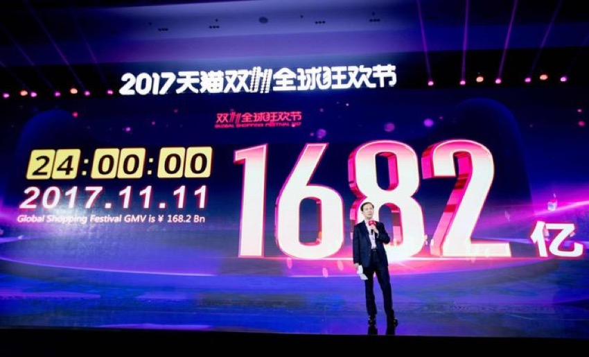 11.11 e-commerce frenzy generates record $25 billion