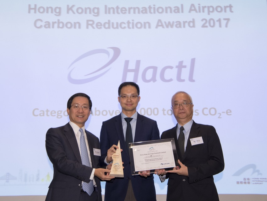 Hactl takes top honours in airport environmental scheme