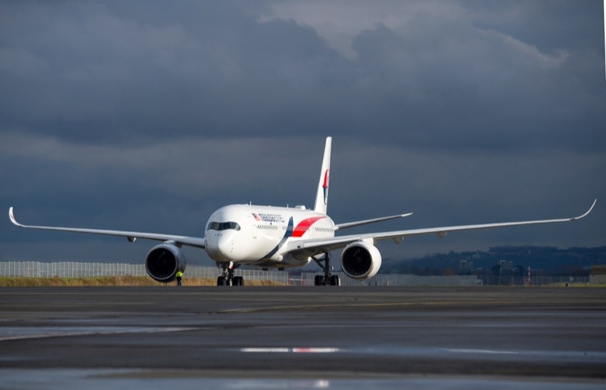Malaysia Airlines takes delivery of first A350-900