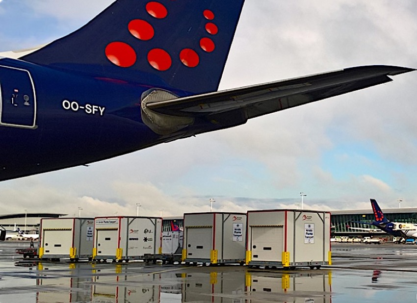 Brussels Airlines Cargo receives CEIV Pharma certificate
