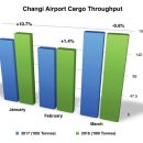 Changi's cargo growth dips into negative territory