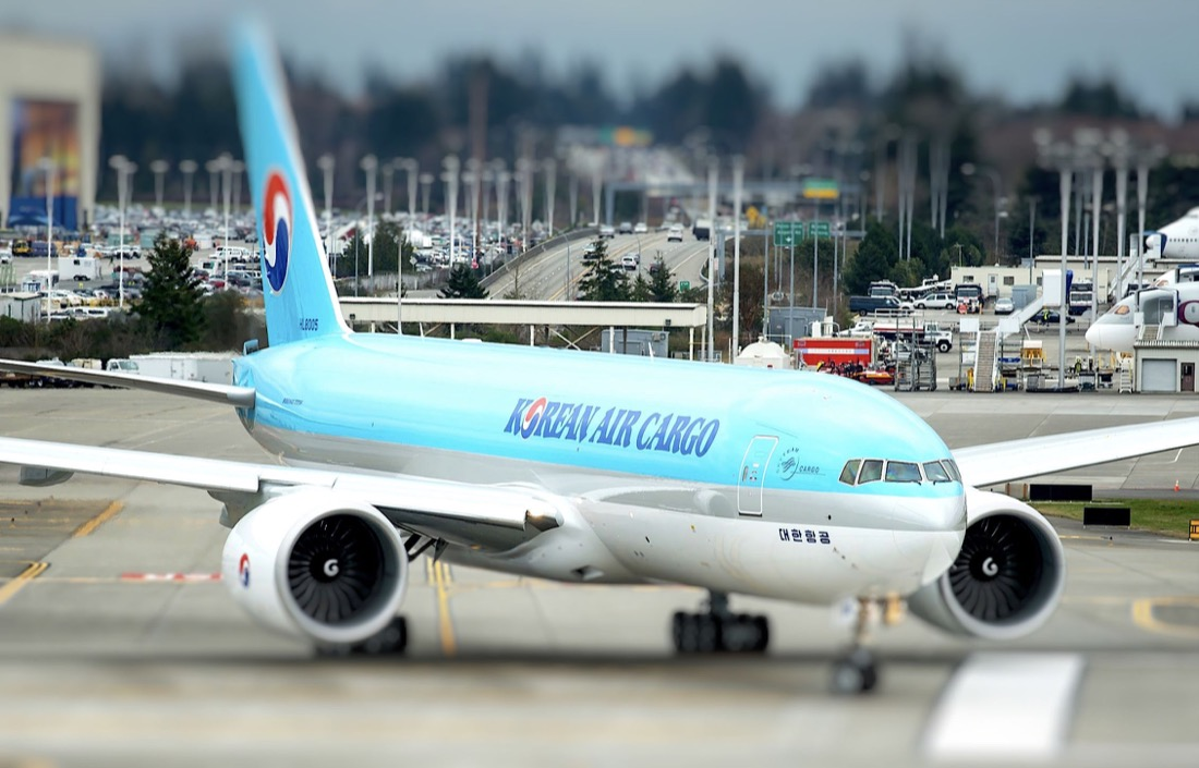 Korean Air launching B777F maindeck service to Delhi