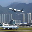 July transhipment makes up for airmail nosedive at Hong Kong Int'l Airport