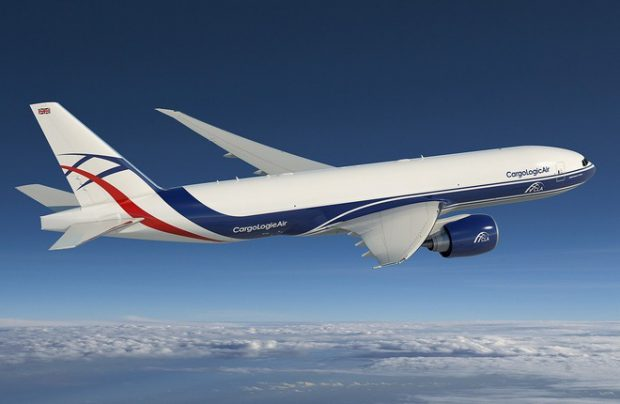 What is Volga-Dnepr's plan for its substantial order of 29 B777Fs?