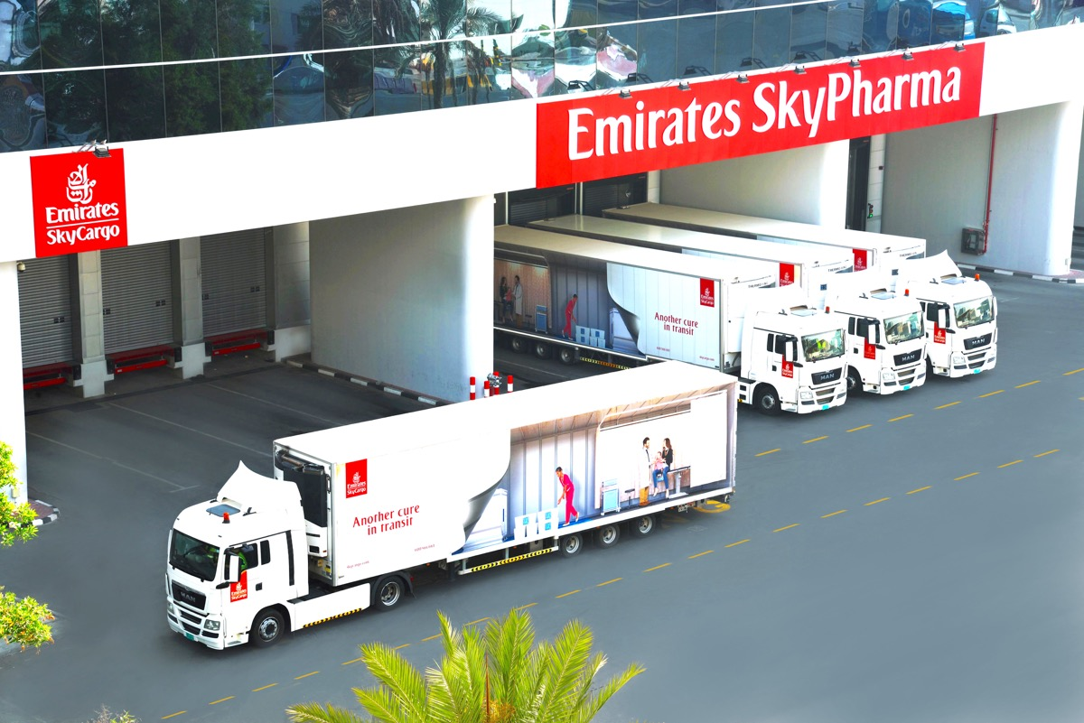 Emirates SkyCargo keeps on truckin' with a million ULDs