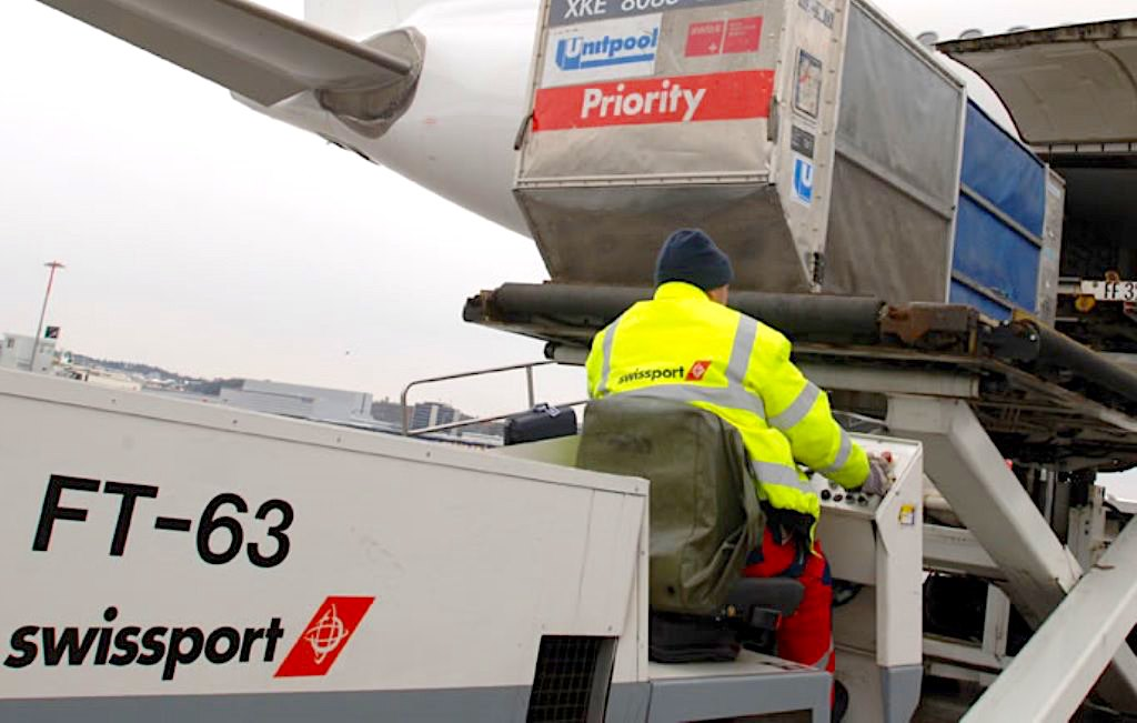 Swissport Int'l sees 1H cargo handling grow 5% to 2.3 million tonnes