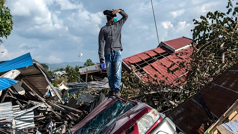 DPDHL Group sends Disaster Response Team to Sulawesi, Indonesia