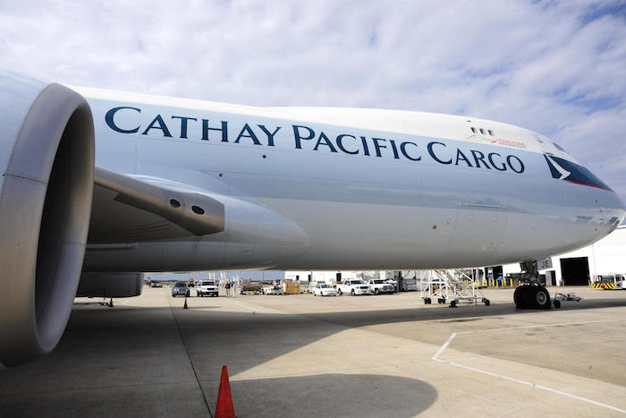 Cathay Pacific narrows loss, helped by rise in cargo volumes and yield