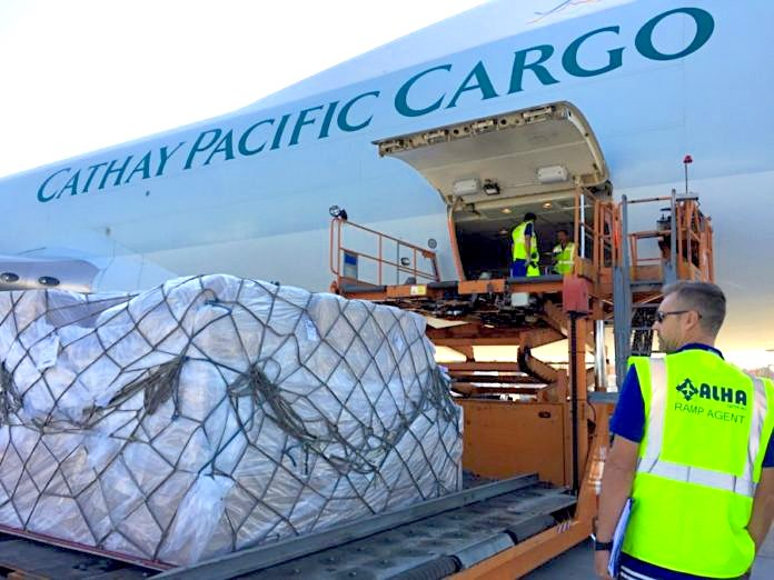 E-commerce helps boost Cathay Pacific volumes 12% in November