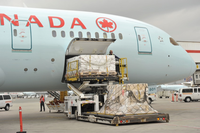 Air Canada adjusts cargo-only as scheduled pax services return
