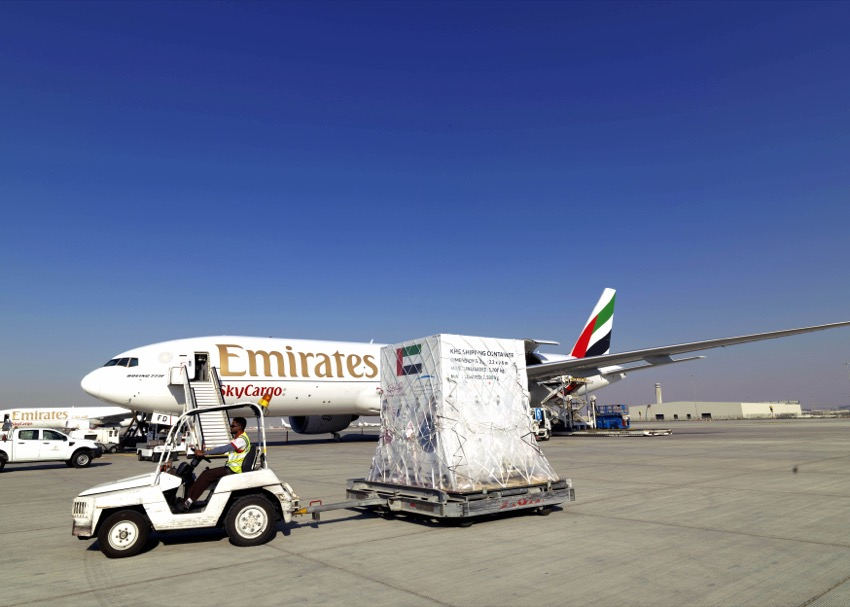 Emirates SkyCargo transports first satellite made in the UAE