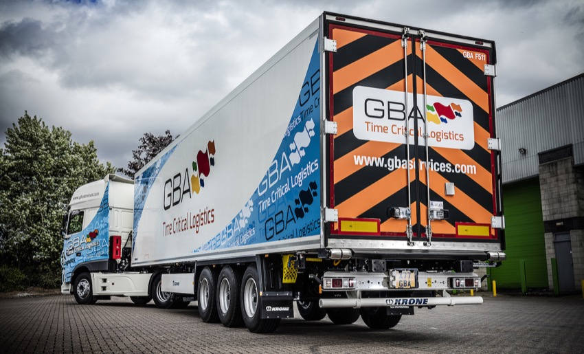 GBA approved for secured air cargo road transport in Germany