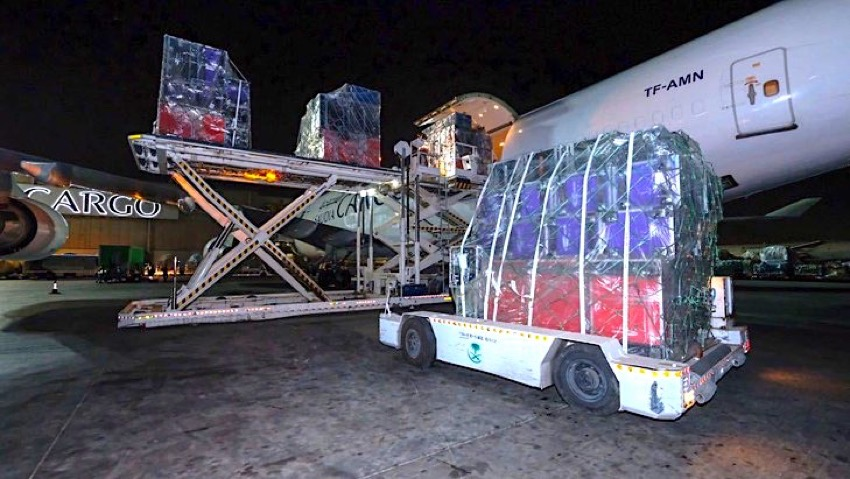 Saudia Cargo rallies for the Royal Rumble in Jeddah