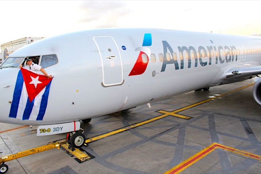 American Airlines becomes first belly cargo carrier to Cuba
