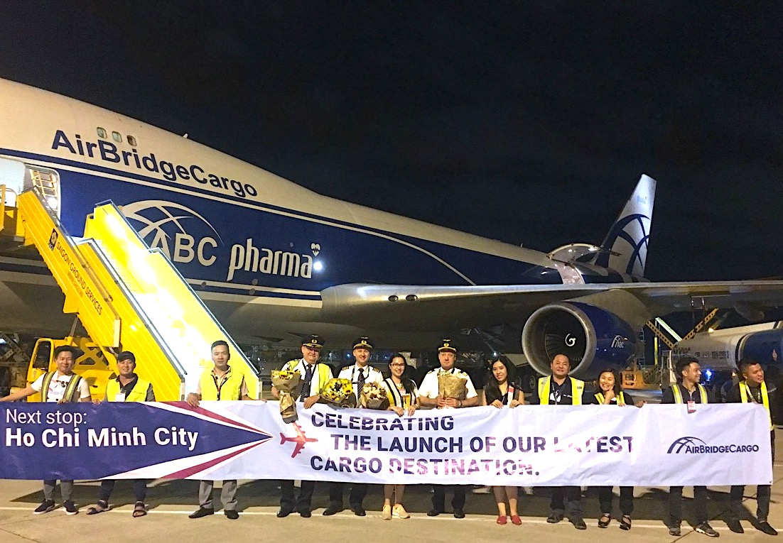 AirBridgeCargo bumps up its Vietnam coverage with new SGN service
