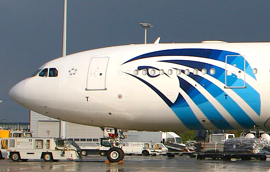 First of three A330-200P2Fs re-delivered to Egyptair Cargo
