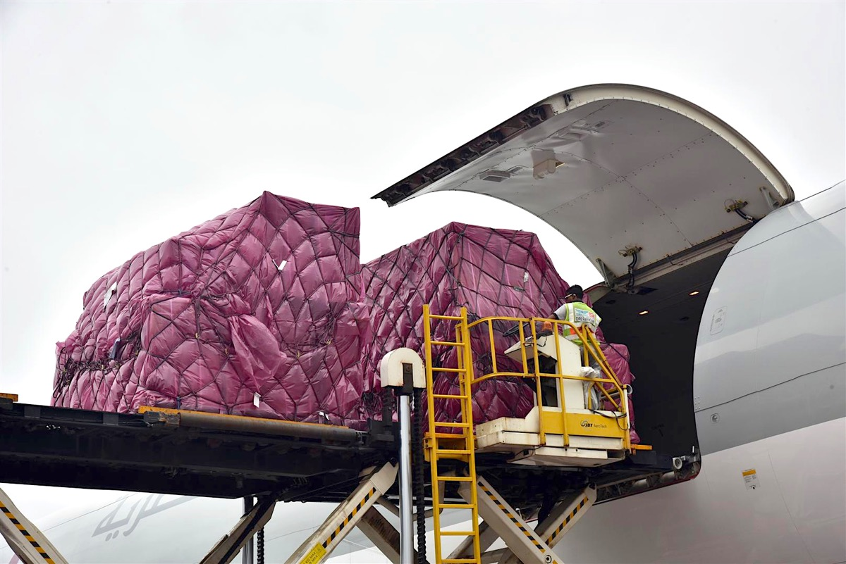 Qatar Airways Cargo successfully chartered 100 tonnes of pre-exposure HIV medications for a unique Brazilian health programme, from Mumbai (BOM) to Brasilia (BMB) for its customer Hermes Travel and Cargo.