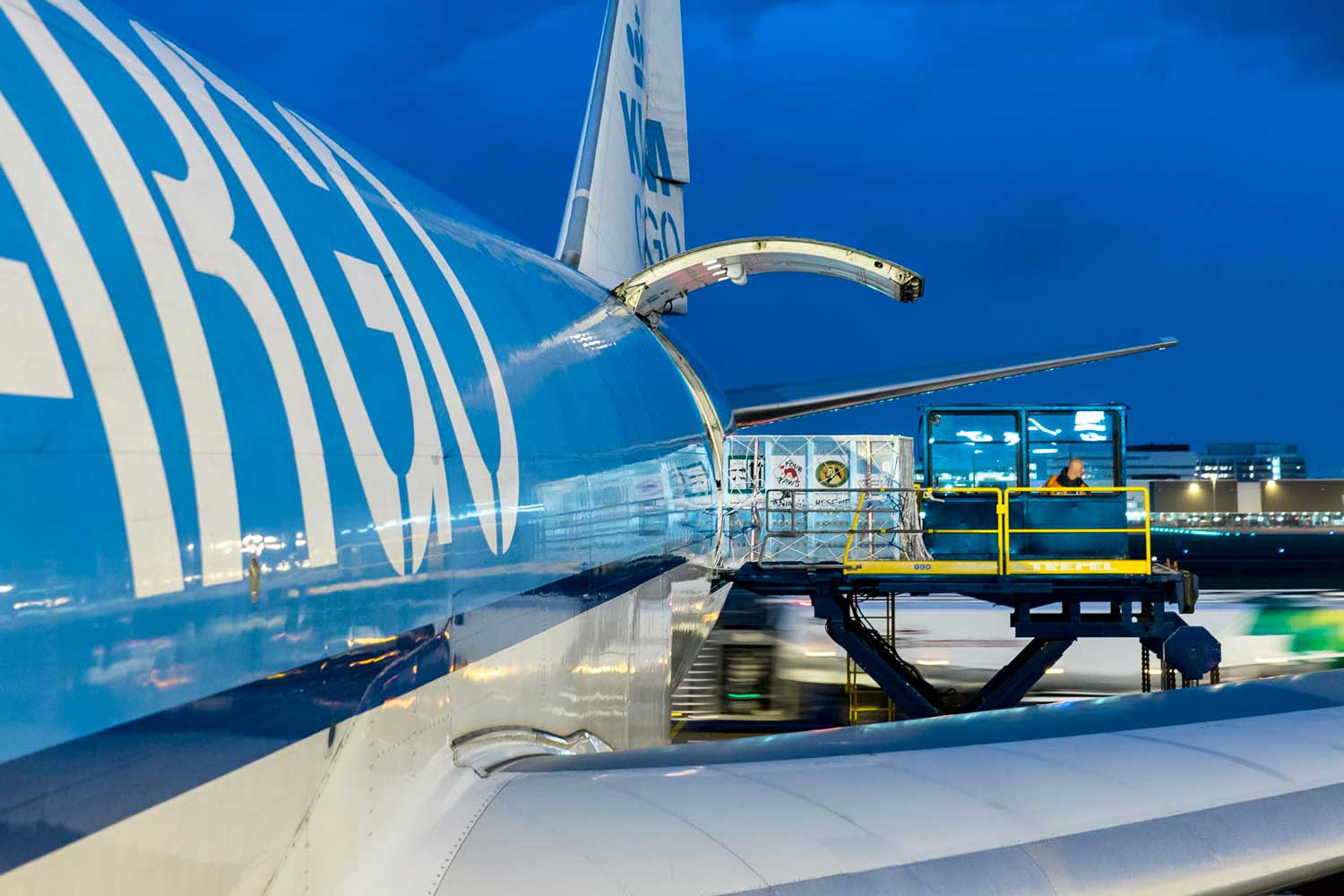 Active tracking devices ok'd on Air France KLM Martinair Cargo flights