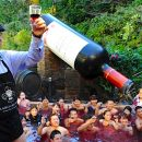 "100,000 bottles of wine in the air as ""Bojo"" wings its way to Japan"