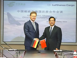 China Post Lufthansa