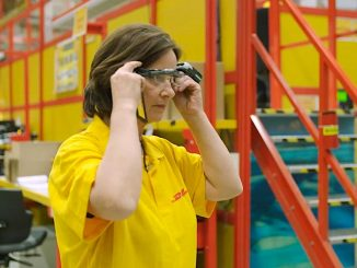 DHL smart glasses