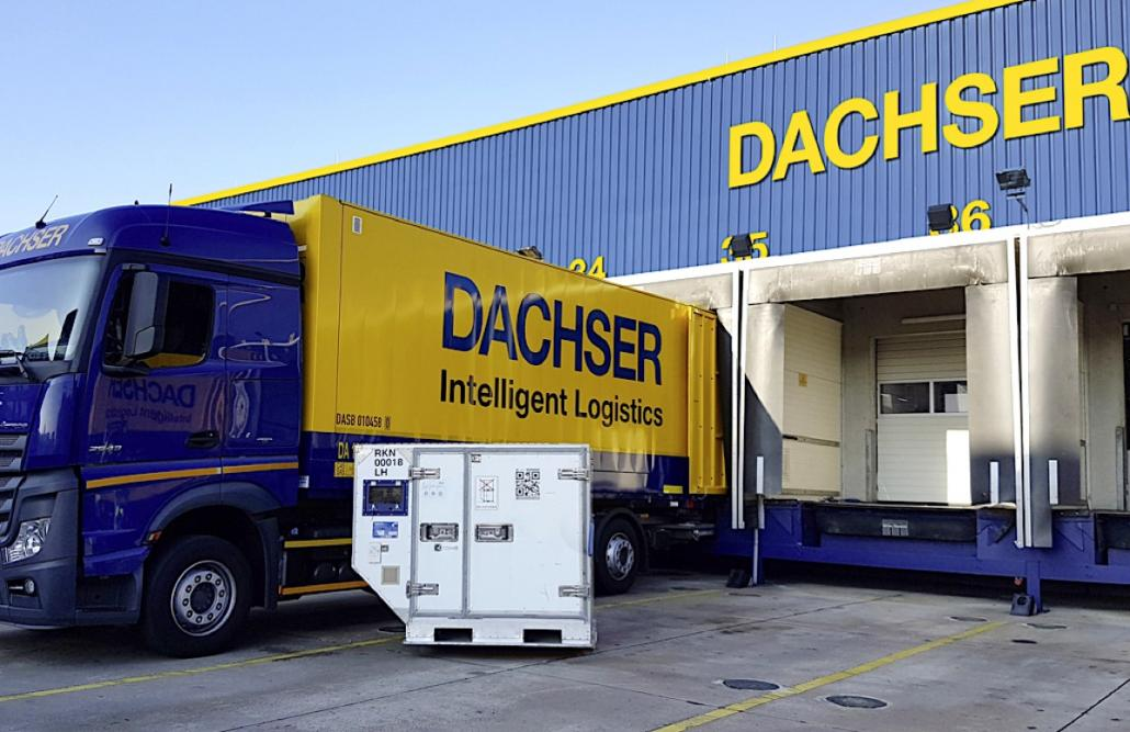 Dachser obtains IATA CEIV pharma certification at FRA