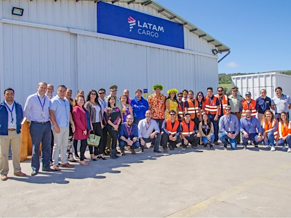 LATAM Cargo opens Easter Island facility, overall group volumes up 6.9%