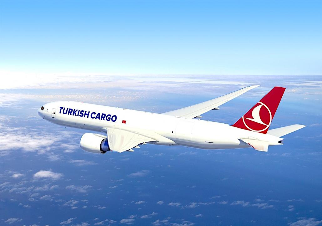 Turkish builds on 'King of cargo' goal with orders for three more B777Fs