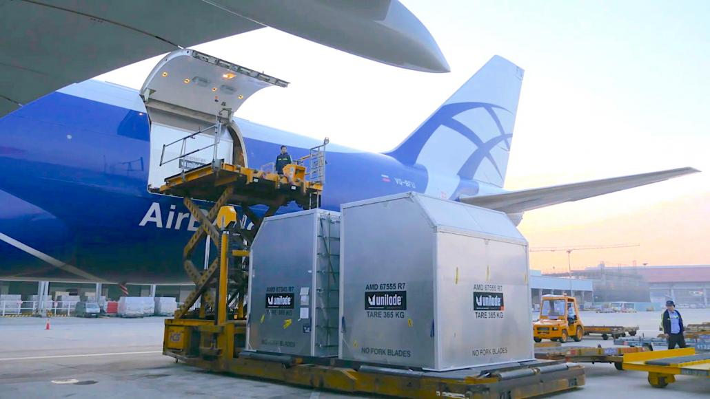 AirBridgeCargo, Unilode partner on Internet of Things ULD tracking