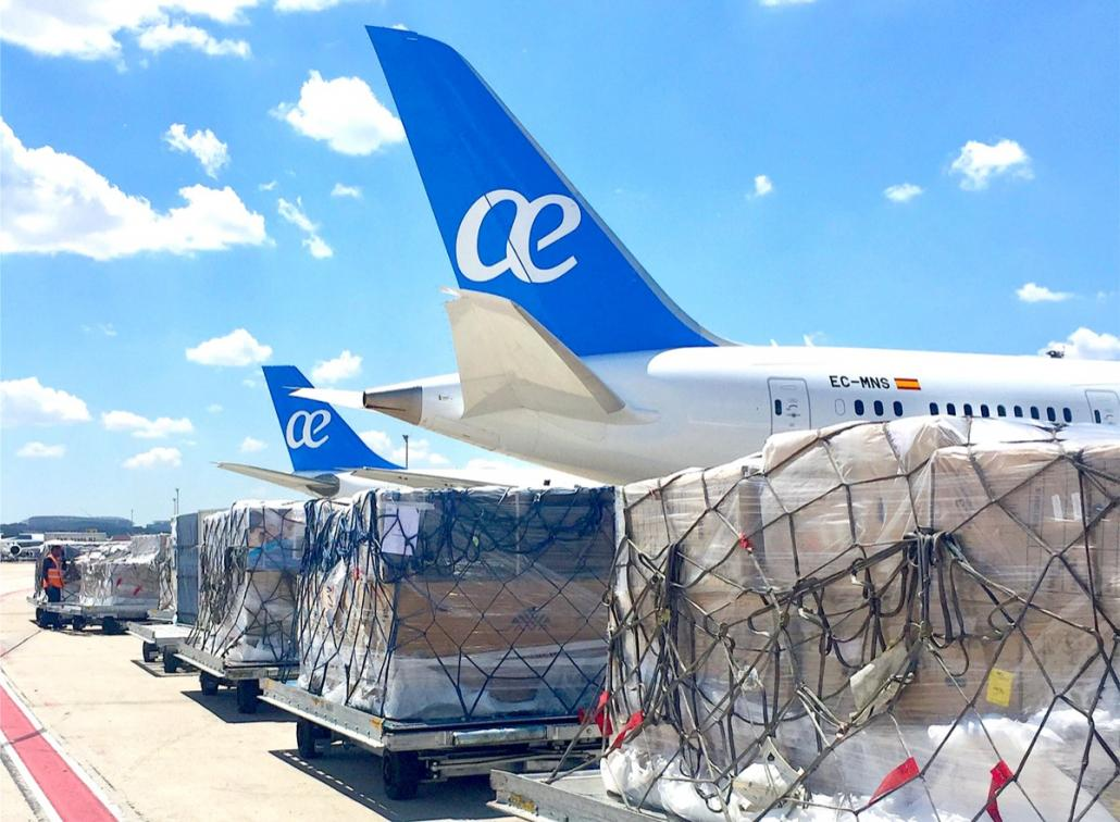 Worldwide Flight Services wins Air Europa's belly cargo
