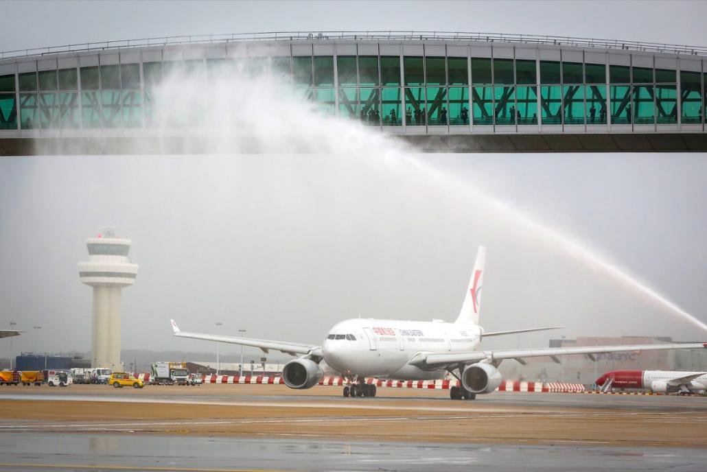 China Eastern begins new Shanghai Pudong-London Gatwick service