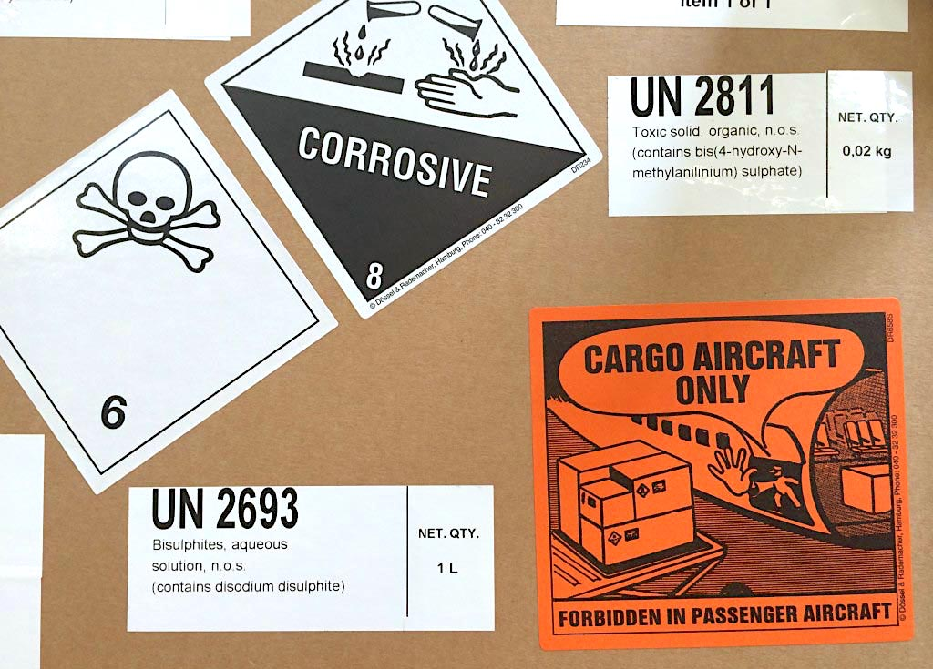 Lufthansa Cargo takes dangerous goods to the cloud