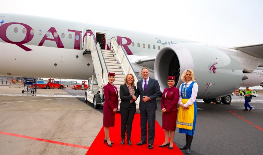 Qatar Airways offers new five-times weekly B787 belly capacity to GOT