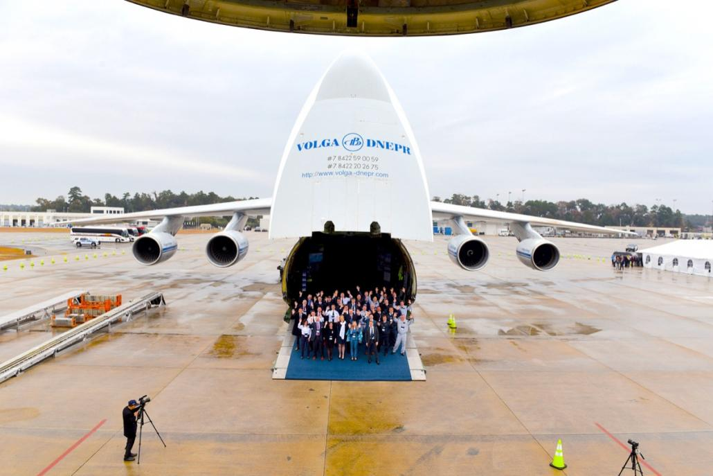 Volga-Dnepr Group opens Operations Base at Houston airport