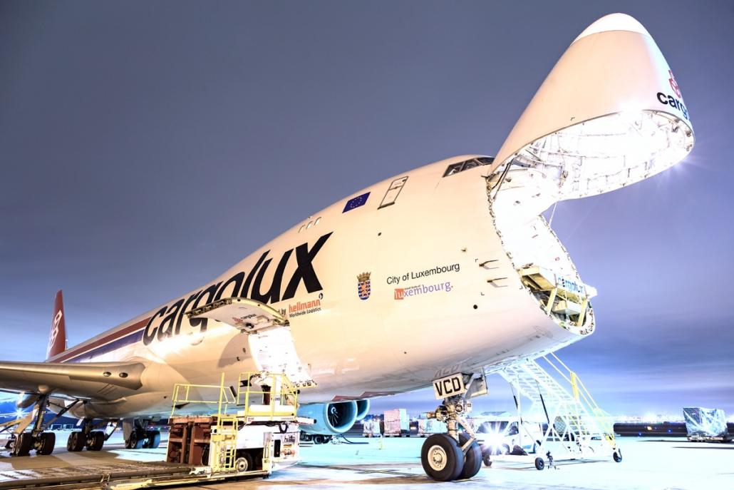 Cargolux launches new HKG-MEX transpacific service