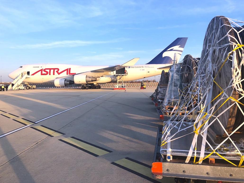U-Freight brings power to the people of Chad with Astral's help