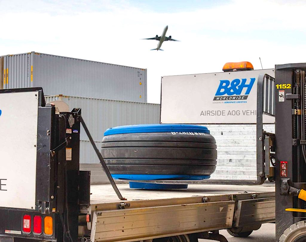B&H Worldwide does forward stocking deal with Apex Aero