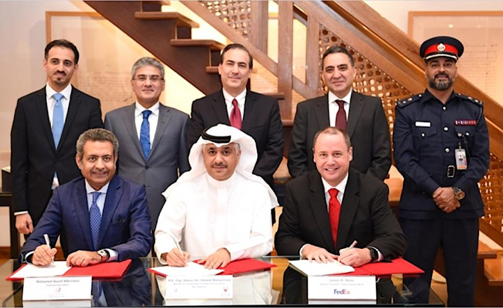 FedEx Express signs up for Bahrain Airport cargo expansion
