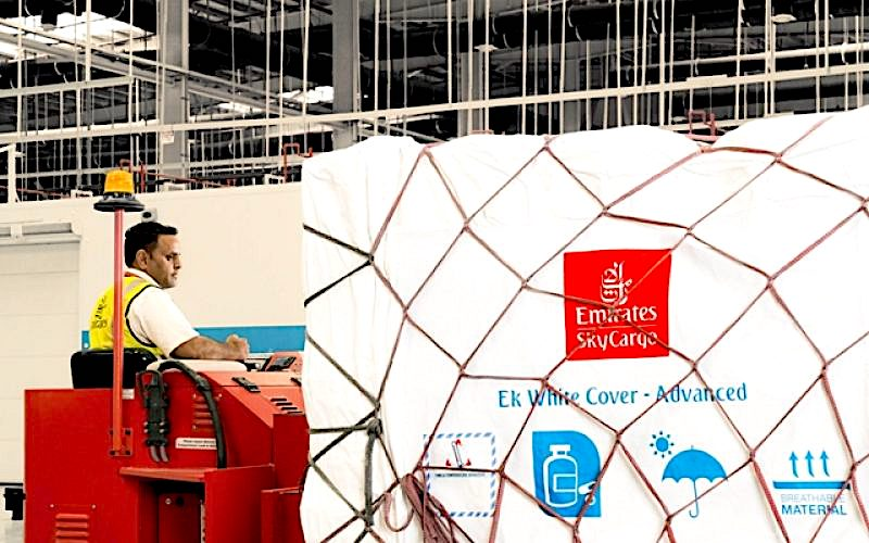 Emirates SkyCargo, DuPont celebrate decade of cool chain cargo covers
