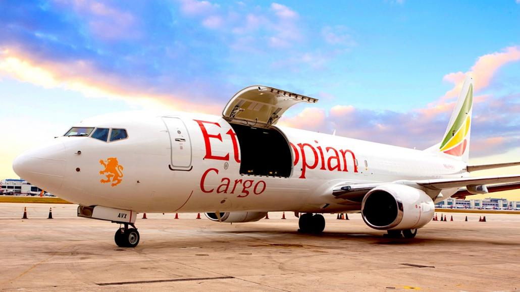 GECAS delivers AEI's first B737-800 P2F to Ethiopian